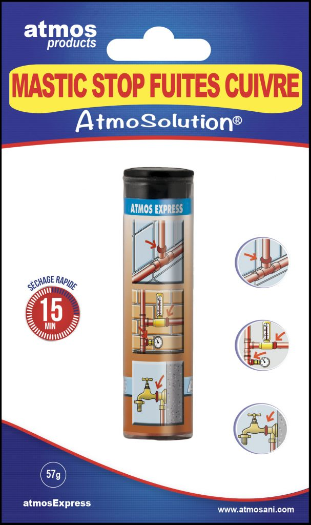 MASTIC STOP FUITES SPECIAL CUIVRE - ATMOS PRODUCTS